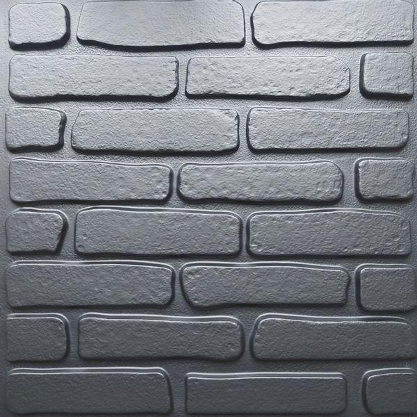 Placa-3D-Tijolinho-Preto